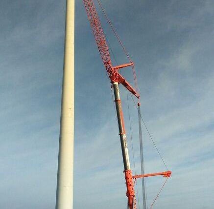 Výstavba veterných elektrární