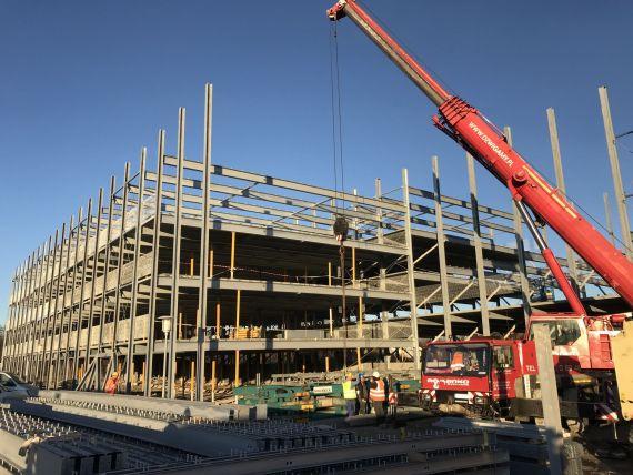 Výstavba viacpodlažného parkovacieho domu